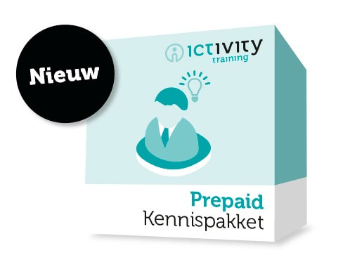Ictivity Training Prepaid Kennispakket