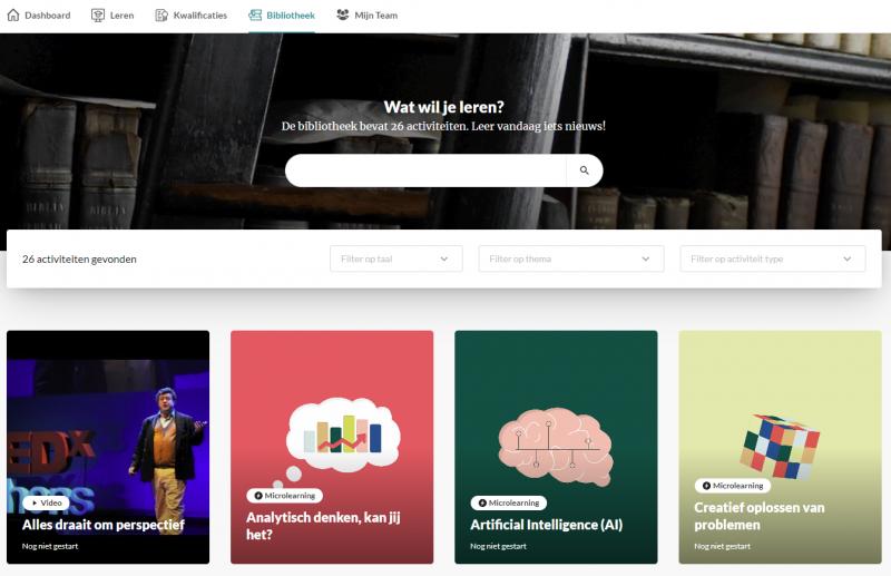 Bibliotheek soft skill modules KennisHub