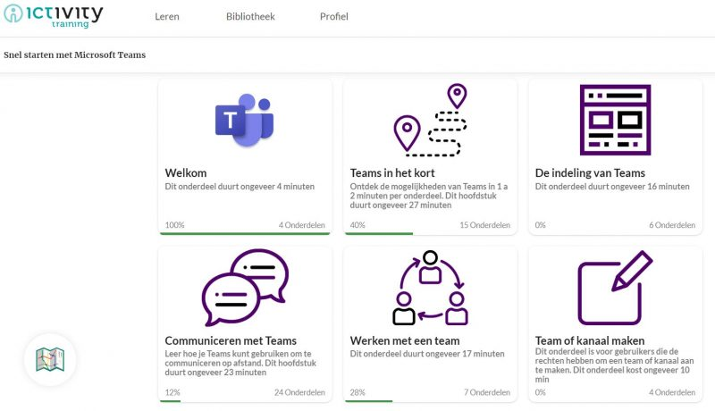 Microsoft Teams e-Learning