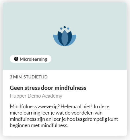 Mindfulness kennishub