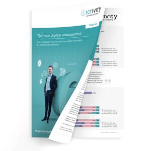 Onderzoeksrapport digitale vooruitgang bij Nederlandse bedrijven